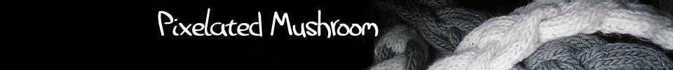 Pixelated Mushroom
