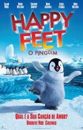 Filme Poster Happy Feet - O Pingüim DVDRip XviD Dublado