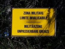 Alto Adige - Divieto di accesso zona militare