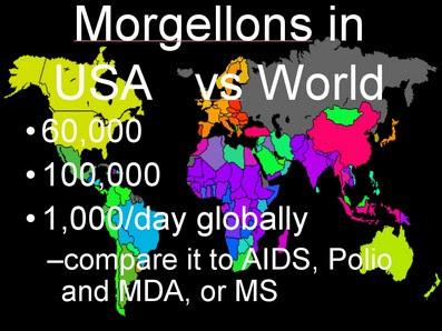 Diffusione del morbo nel mondo - Ogni giorno 1000 nuovi casi