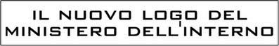 Solero il diario di un libero pensatore il nuovo logo for Ministero interno r