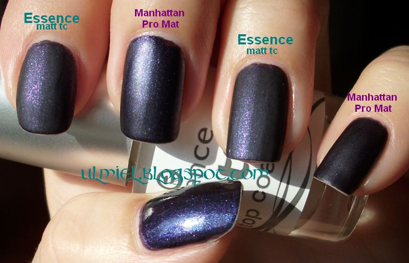 Did someone say nail polish?: Comparison: Manhattan Pro Mat Top Coat ...
