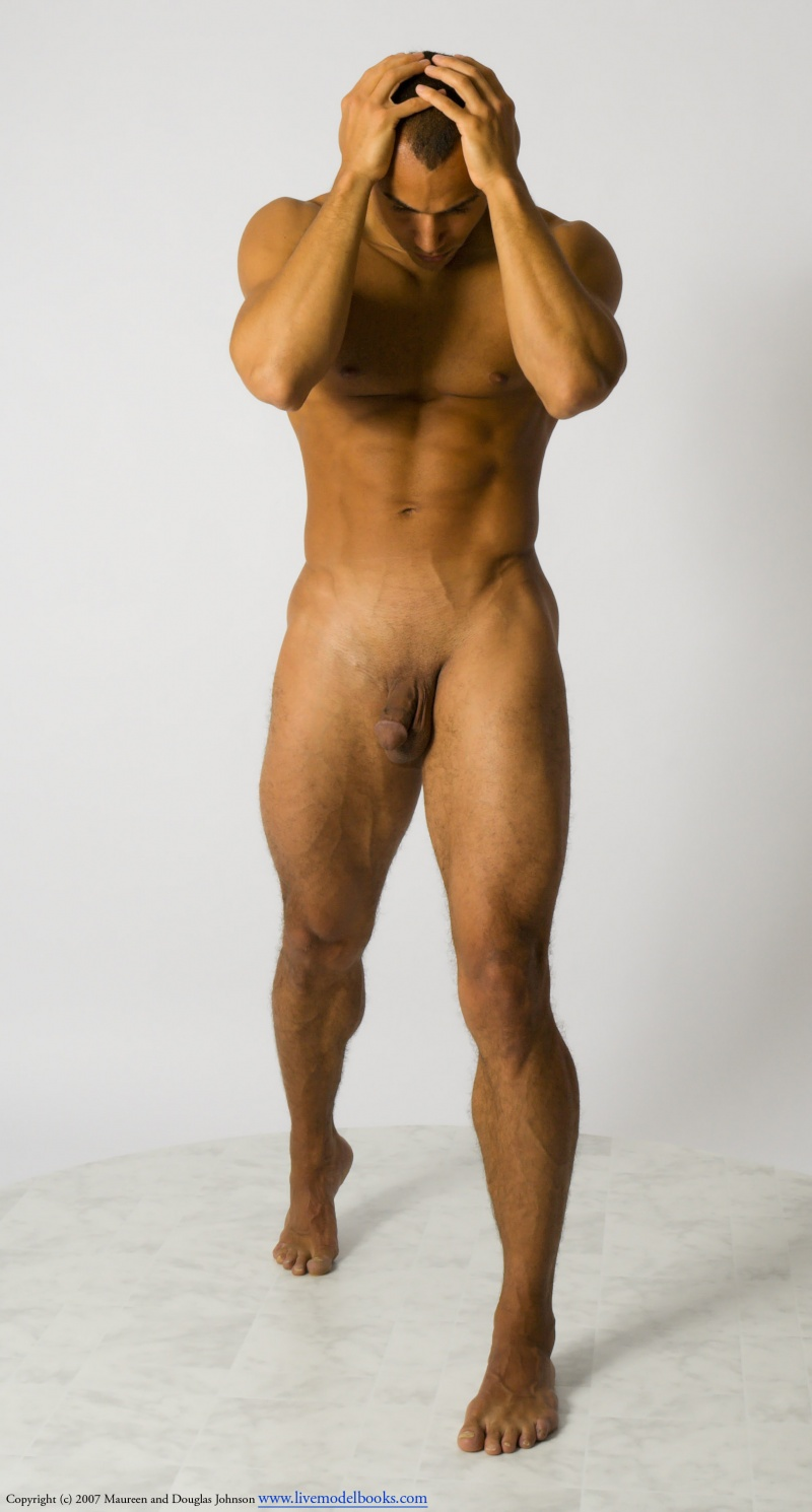 nude modeling male art