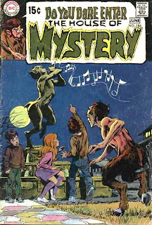 House of Mystery v1 #186 dc comic book cover art by Neal Adams
