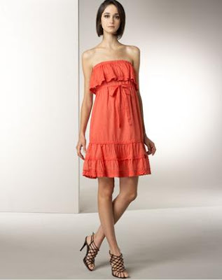 Karta Strapless Dress