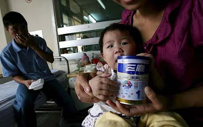 China's Sanlu admits contamination of baby milk powder products