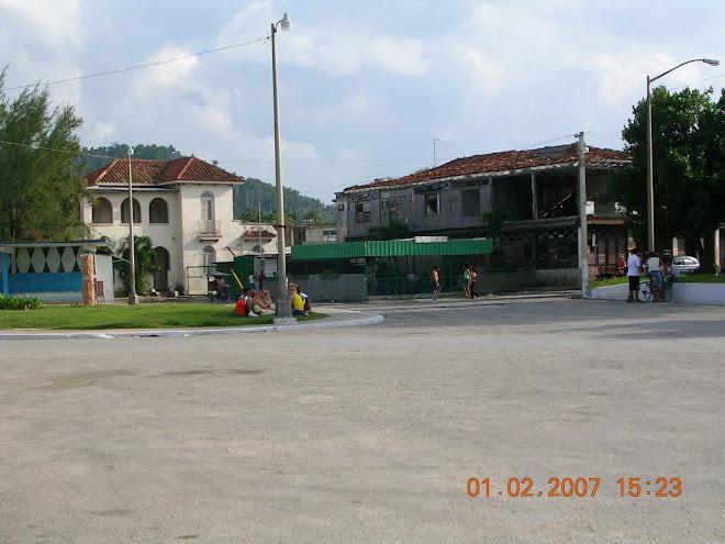 lado norte del parque,casa Dr Cruz,Hotel Miramar