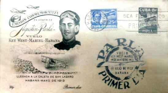 Postal Conmemorativa Agustin Parla