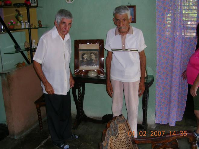 Rostros olvidados Alejandro y Nestor Cruz