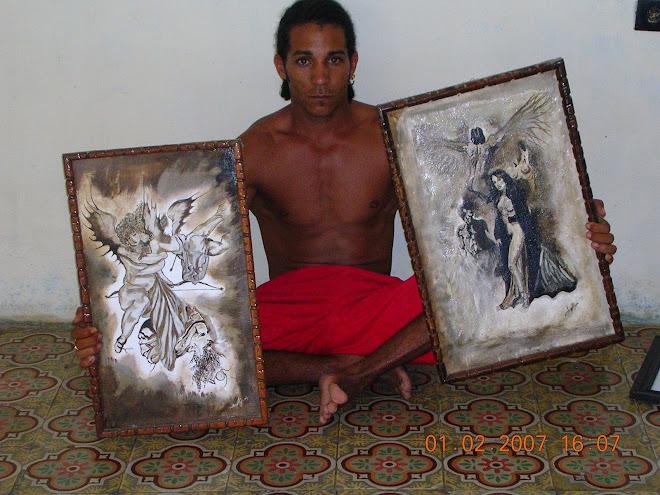 Pinturas del artista Javier Arias