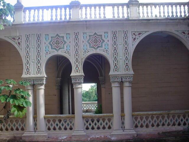 Vista del segundo piso del este