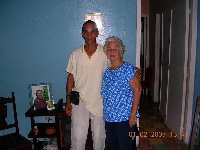 Jesus Jr. y mi Madre