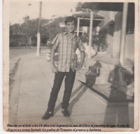 Lorenzo Abreu  a los 14 de edad