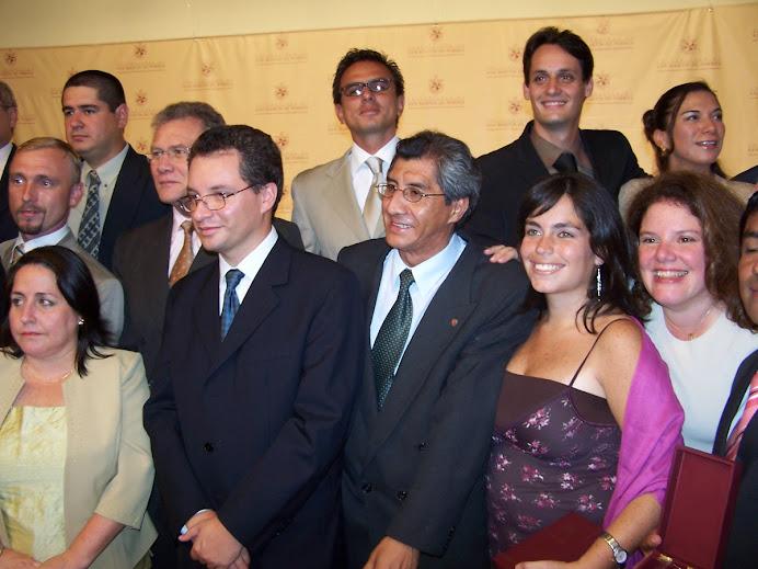 Graduación de la Primera Promoción IDVIP 2006