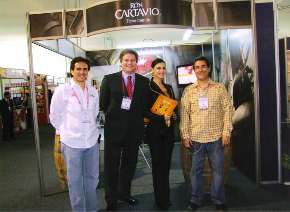 Stand Cartavio en Feria Alimentaria