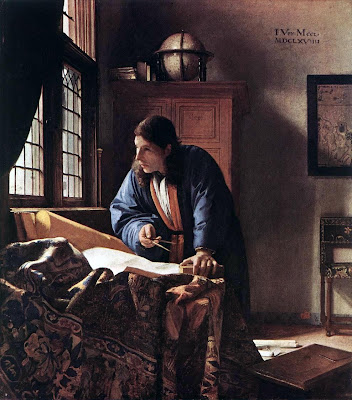 Johannes Vermeer Jan_Vermeer_-_The_Geographer