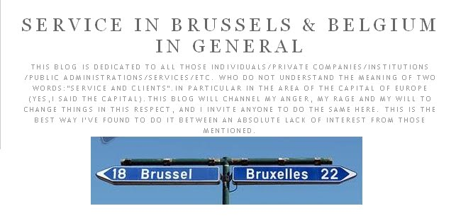 SERVICE IN BRUSSELS & BELGIUM IN GENERAL