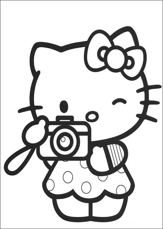 Image Result For Hello Kitty Coloring