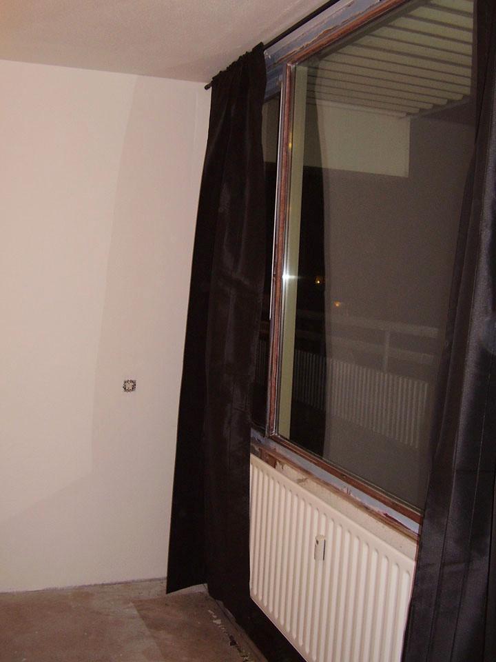 verbouwing venuslaan gordijnen ophangen