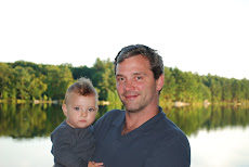 Dad, Boy, Lake