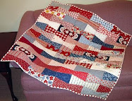 Tumbler Bows Baby Quilt