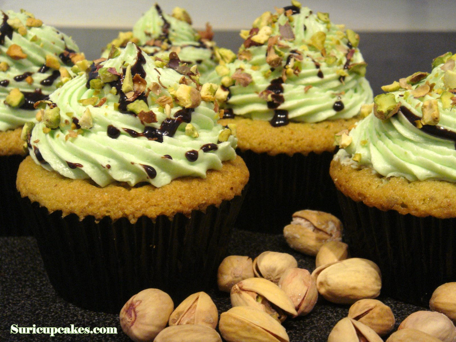 SURI CUPCAKES: Cupcakes Pistache!!