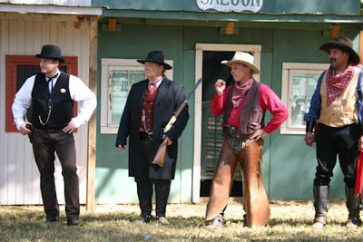 cowboy reenactors