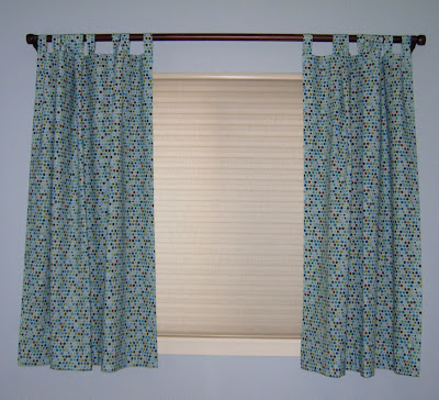 curtains open