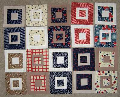 Paintbox quilt along blocks, weeks 2 and 3