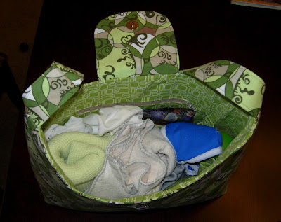 loaded diaper bag