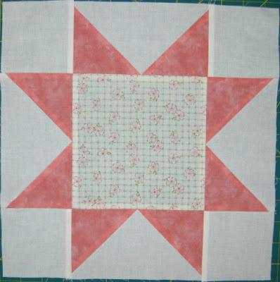 start quilt along, block 2