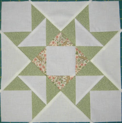 Star Quilt Along, week 5 block