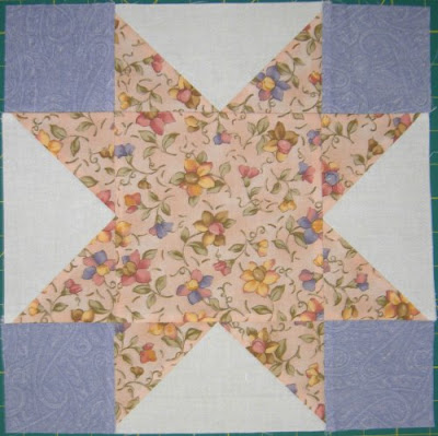Star Quilt Along, block 9