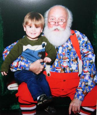 Santa picture 2008