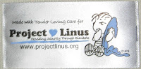 Project Linus blanket label