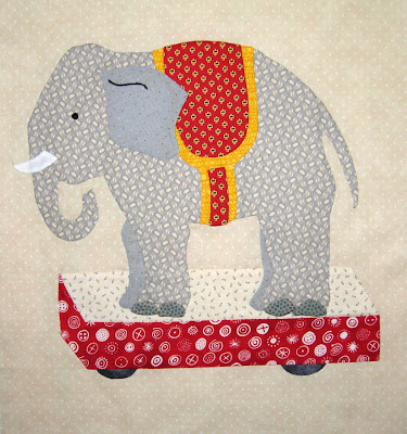Playtime: the elephant block