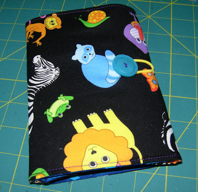 animal coloring wallet