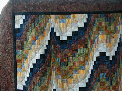 Forst Lights Bargello quilting detail 2