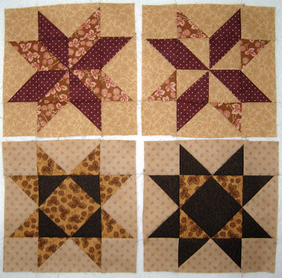pieced blocks, month one