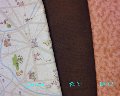 fabrics for my Cosmo Bag