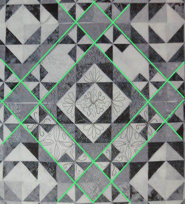 Forest Canopy quilting plan