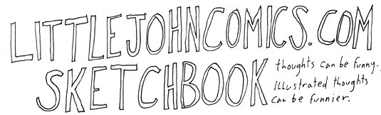 littlejohncomics.com sketchbook