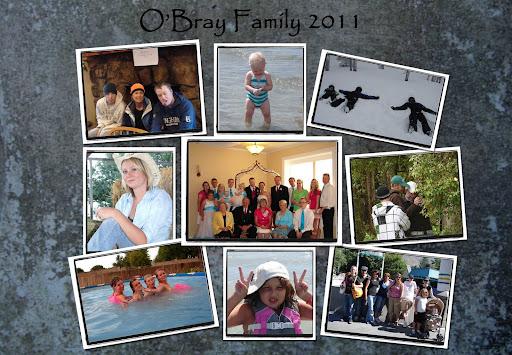 O'Bray Family 2011
