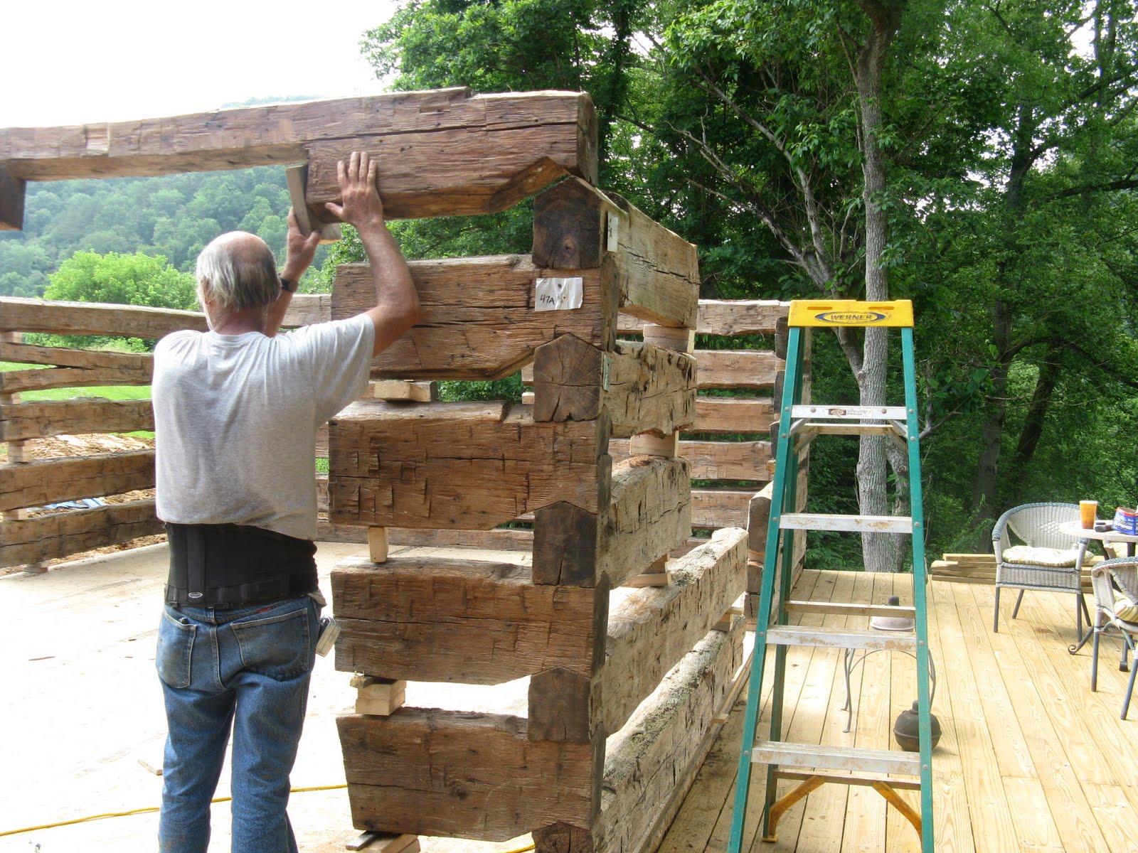 old log cabin revival  june 2010