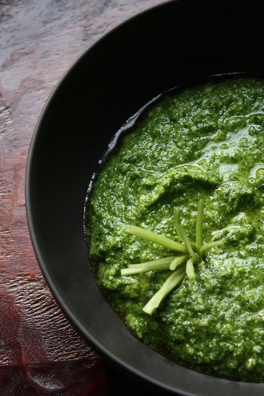 celery pesto recipe