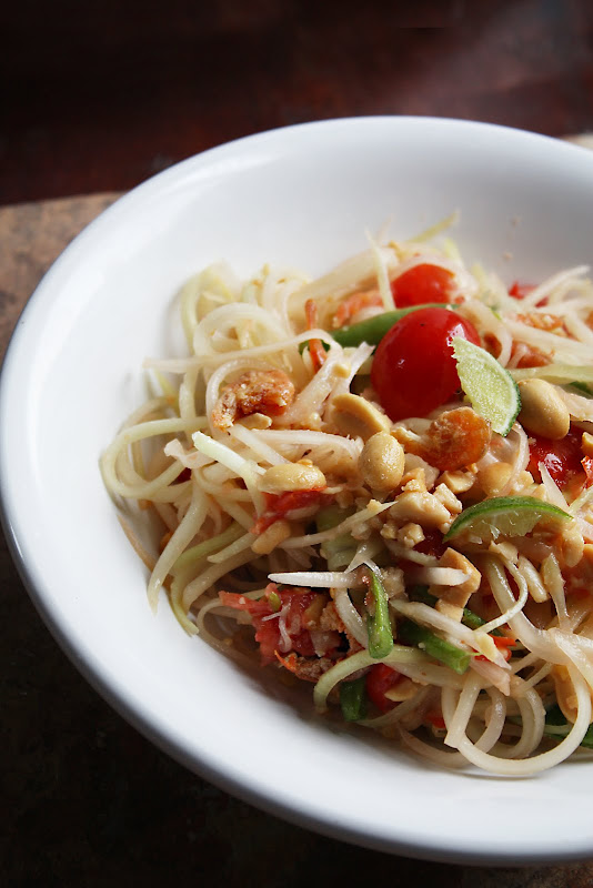 som tum thai papaya salad recipe