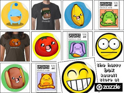 The Happy Box at Zazzle