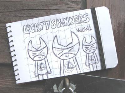 Lucky 7 Mascot Spanner Set!