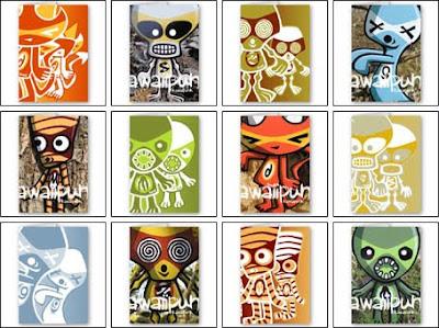 KawaiiPunk Halloween Cards!