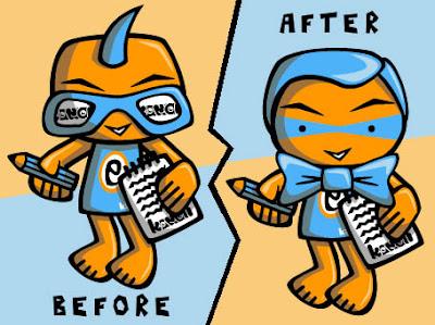 Ed Mascot makeover!